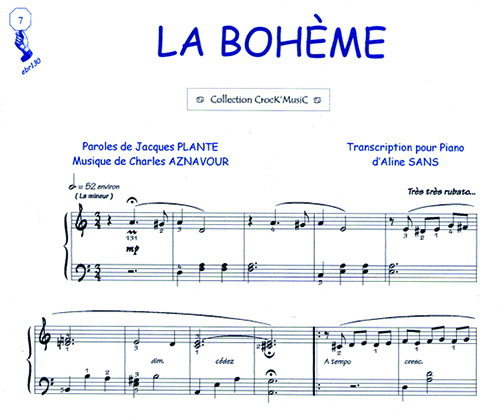 partition guitare la boheme, 3